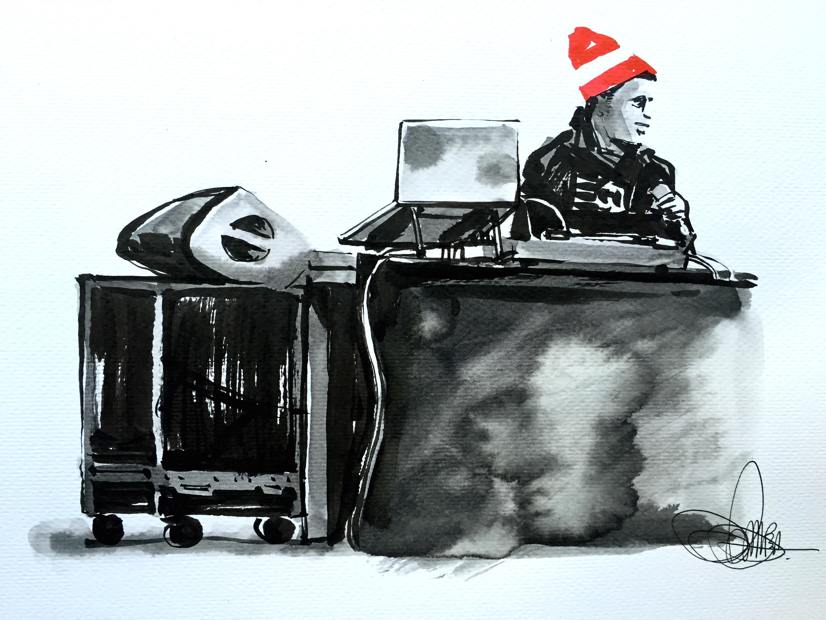 DJ IAMNOBODI ©Andrea Musso