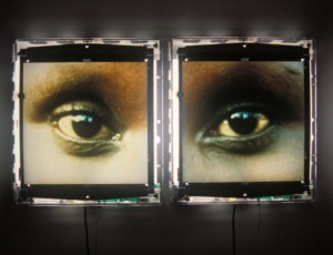 Alfredo Jaar The Eyes of Gutete Emerita (1996). ©Speed Art Museum, Louisville, Kentucky