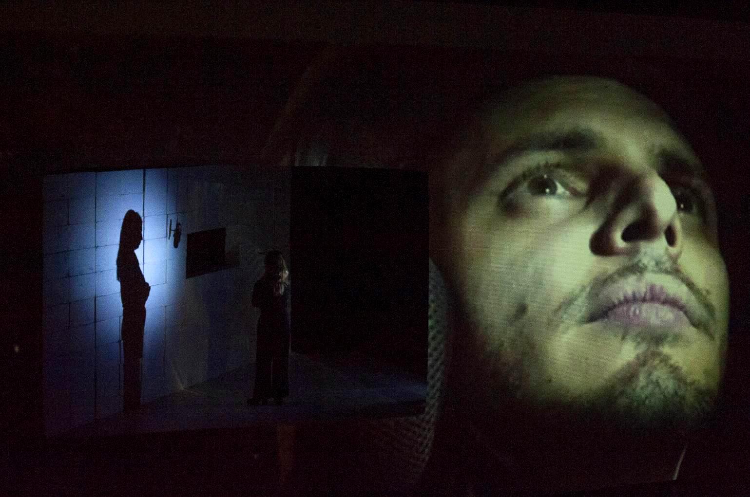 Teatri di Vita Chiedi chi era Francesco. Foto di scena ©Michele Tomaiuoli
