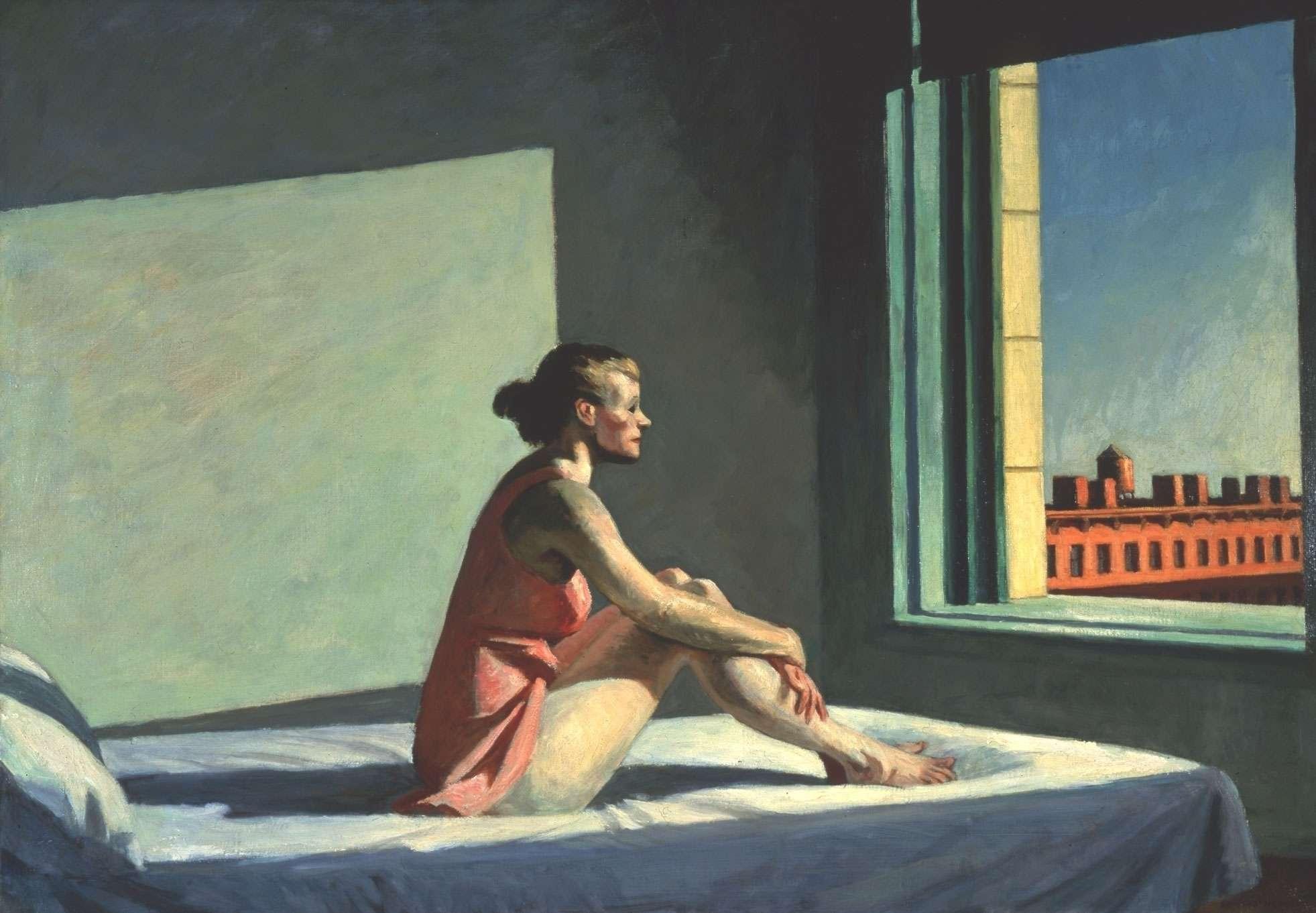 Edward Hopper Morning Sun (1952). ©Columbus Museum of Art, Ohio