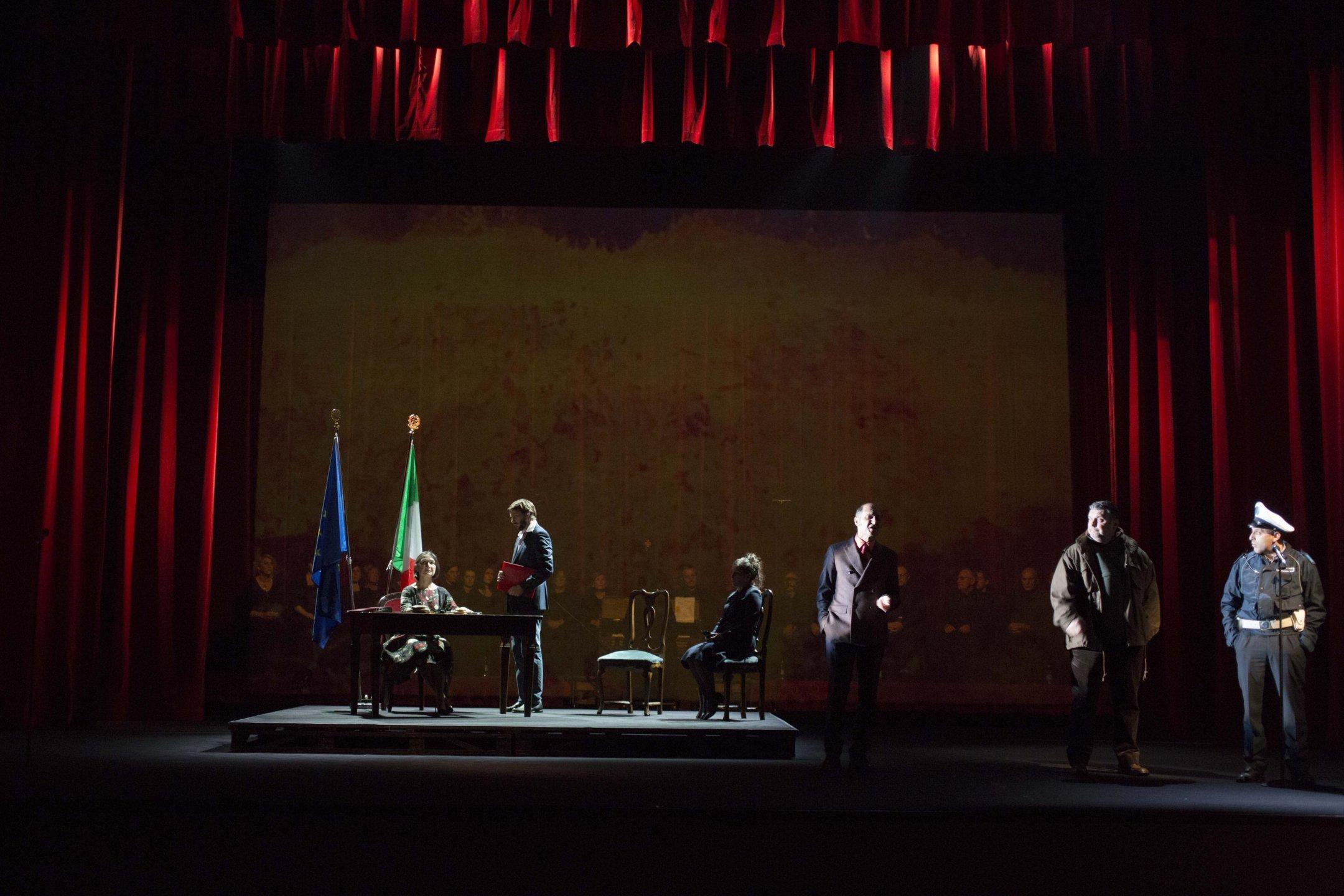 Martinelli/Montanari Va pensiero. Foto di scena ©Silvia Lelli