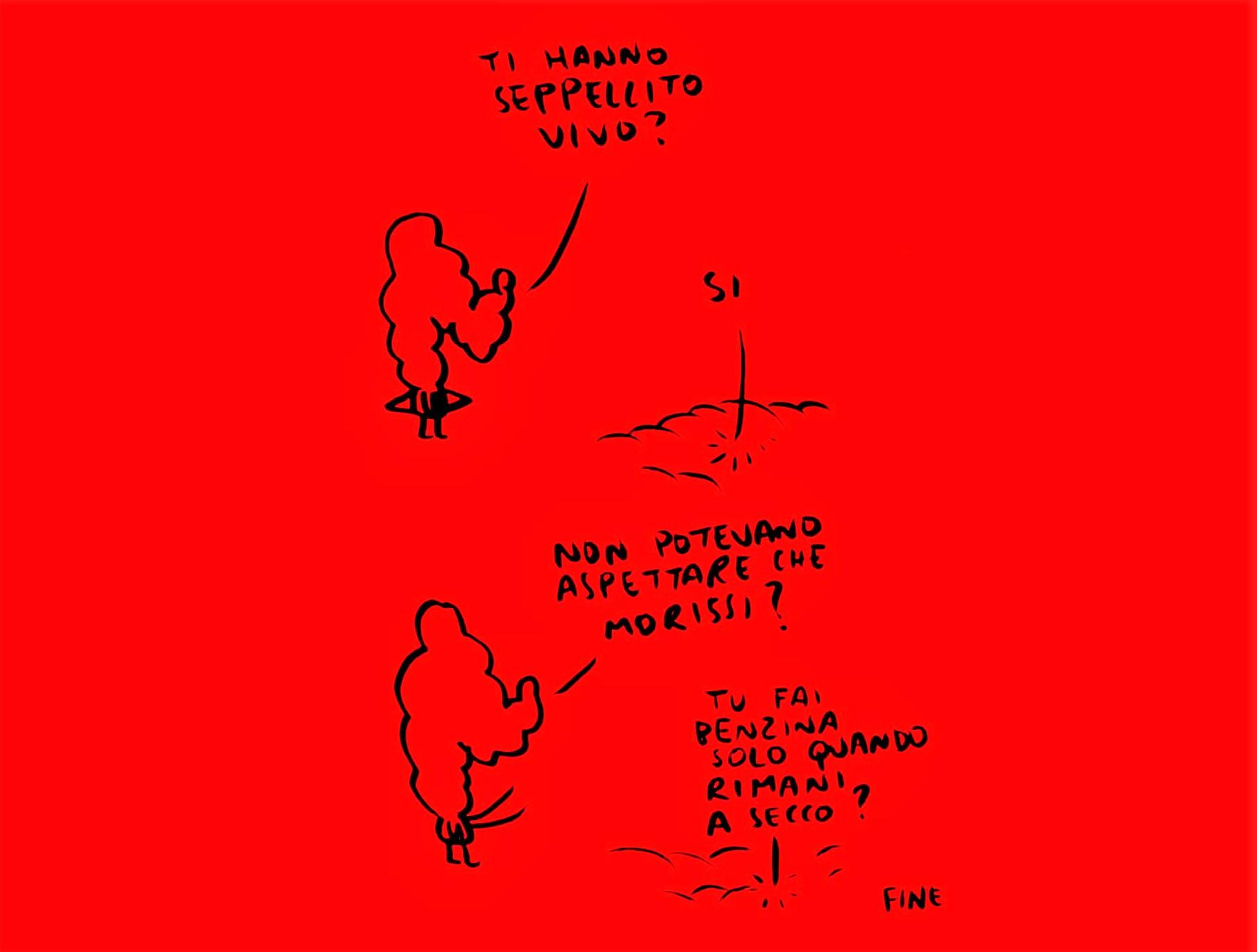 Gli Scarabocchi di Maicol&Mirco ©Michael Rocchetti