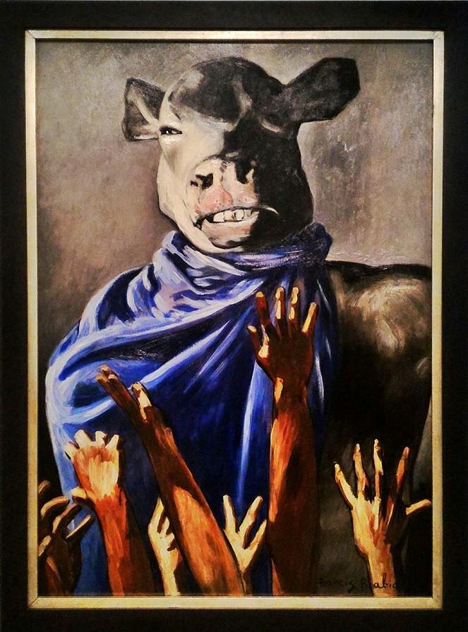 Francis Picabia L'Adoration du veau (1941-42). Centre Pompidou, Parigi