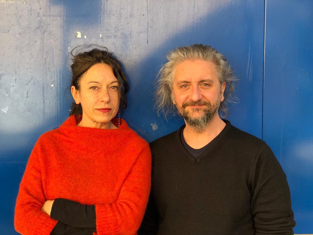 Giuliana Musso & Ascanio Celestini. ©Teatro Biblioteca Quarticciolo