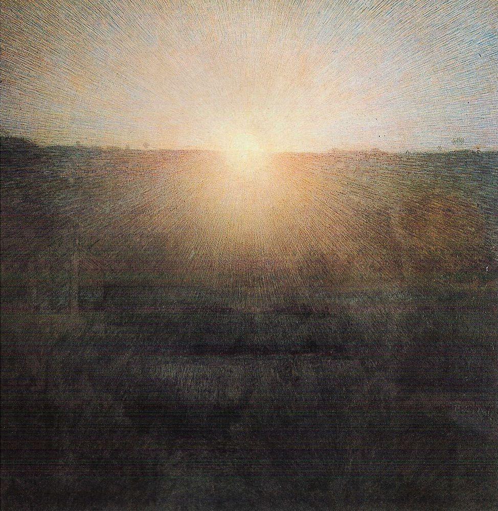 Giuseppe Pellizza da Volpedo Il Sole nascente (1904). ©Galleria Nazionale d'Arte Moderna, Roma