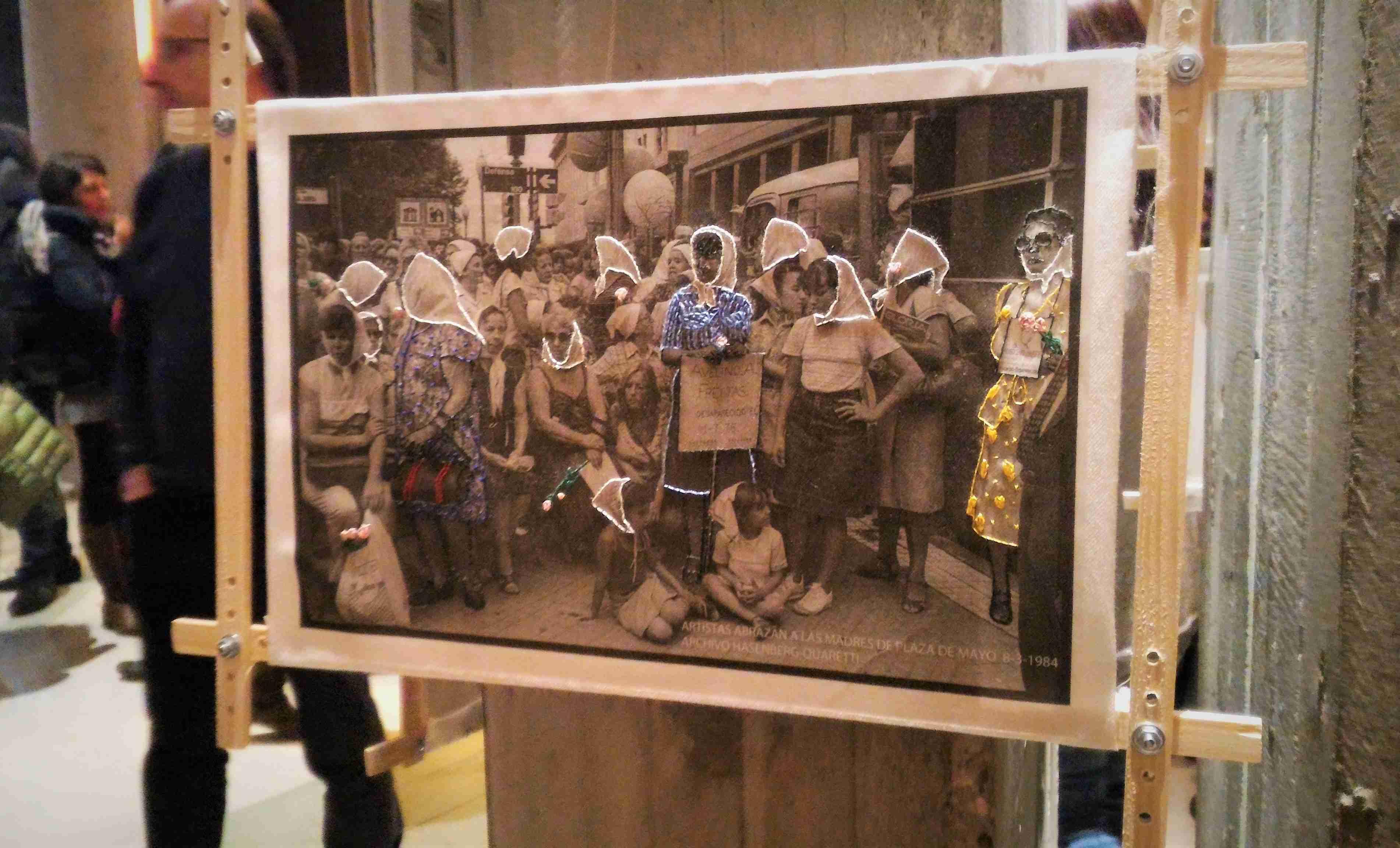 La Mue/tte Les folles. Esposizione. Foto ©Giulio Sonno
