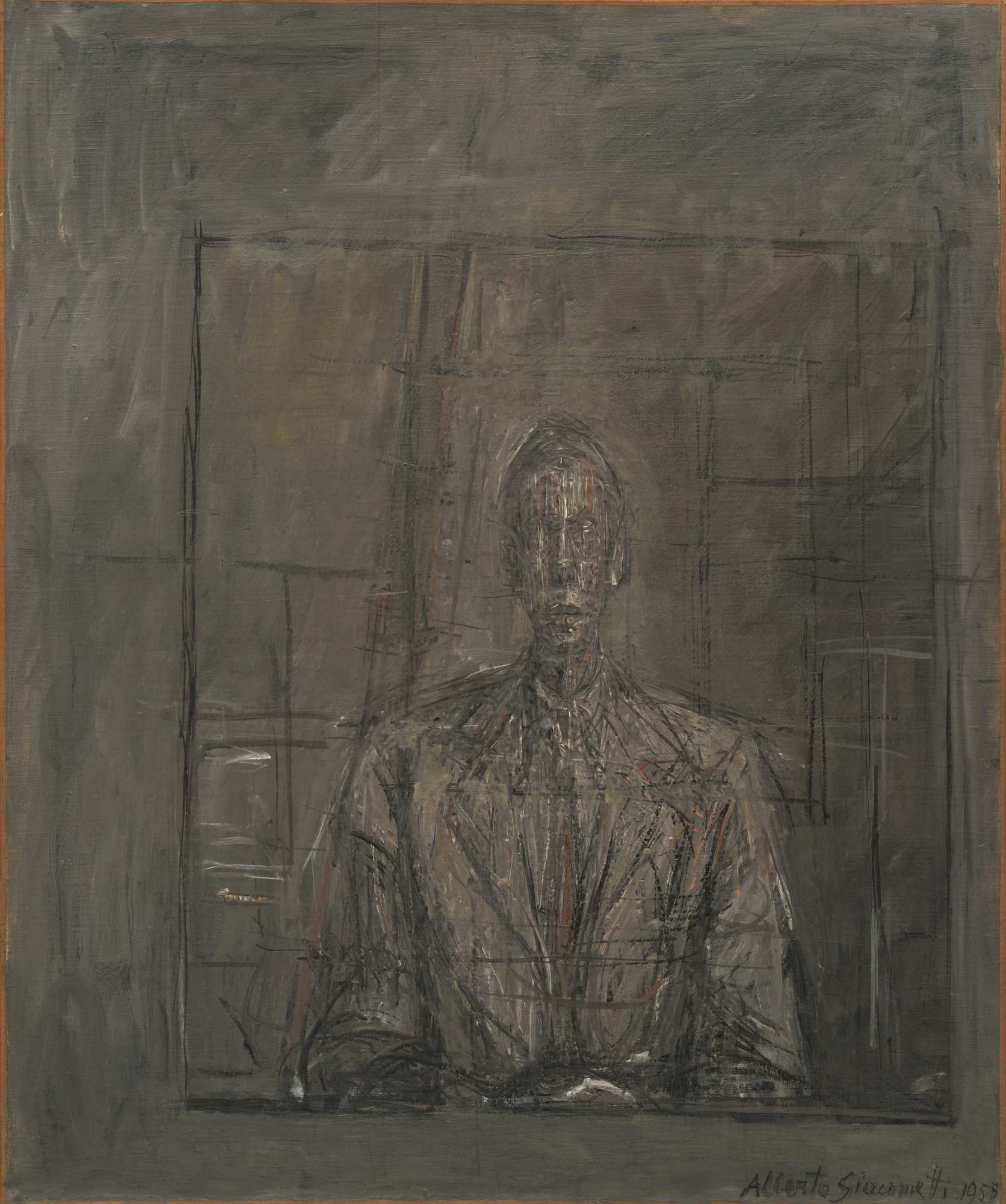 Alberto Giacometti Ritratto di Peter Watson (1953). MoMa, New York ©2018 Artists Rights Society (ARS), New York/ADAGP, Parigi