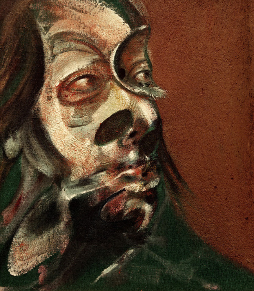 Francis Bacon Study of Isabel Rawsthorne (1966). Centre Pompidou, Parigi ©The Estate of Francis Bacon