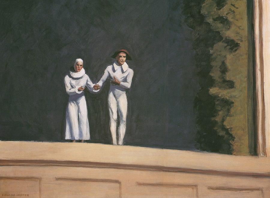 Hopper - two comedians
