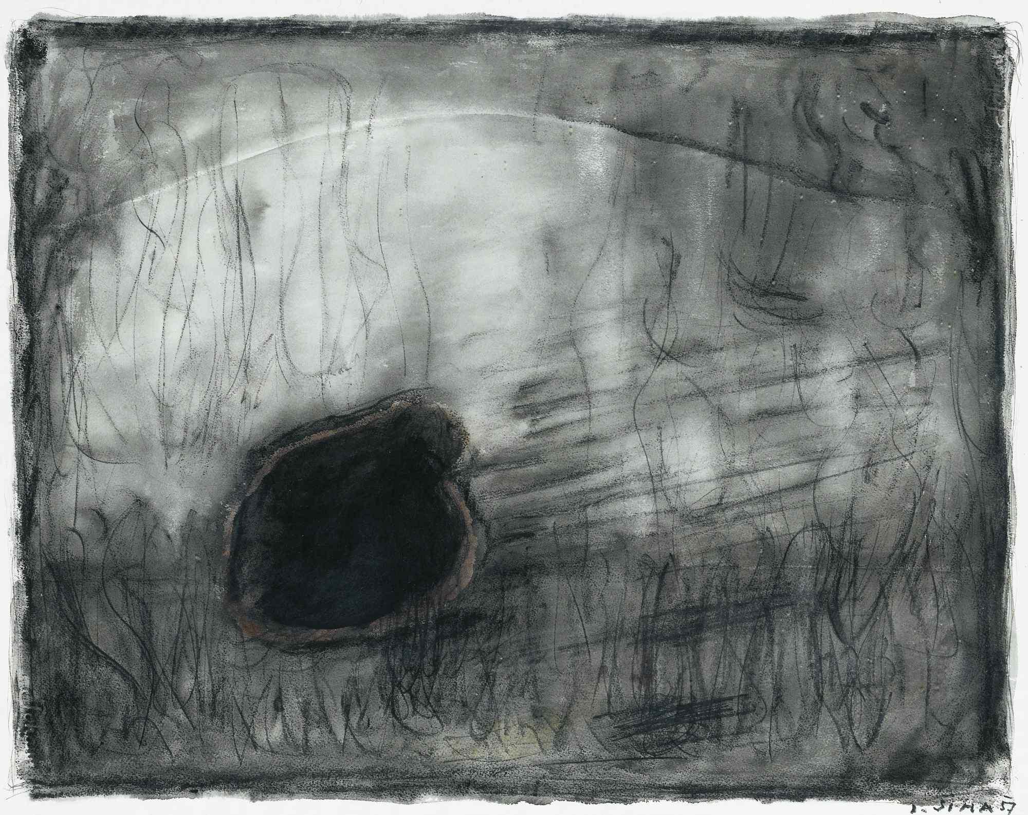 Joseph Sima Composition (1957). ©Collezione Privata