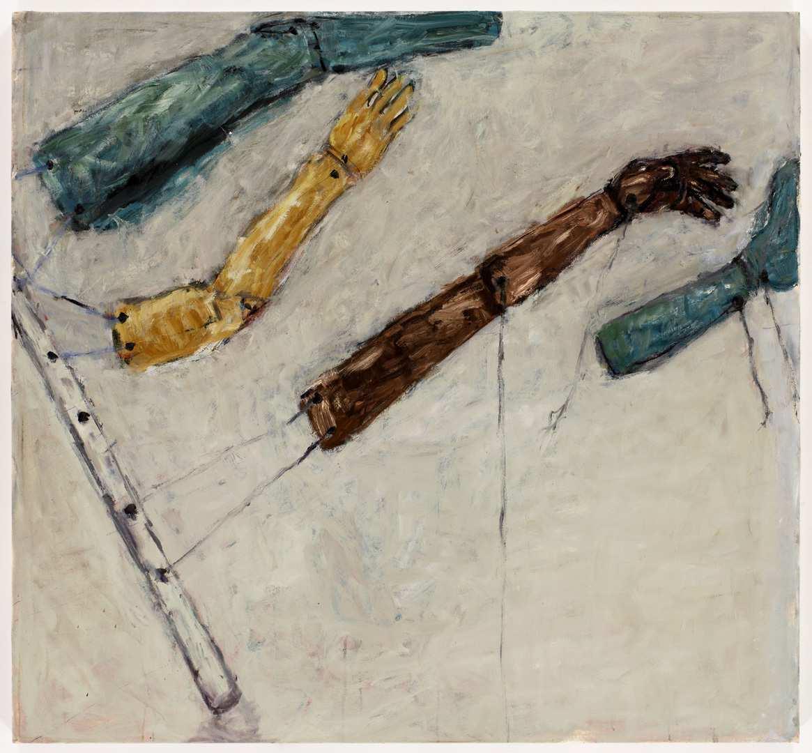 Susan Rothenberg Tilt (2008). ©Rothenberg