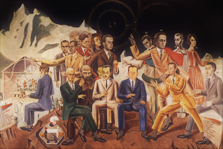 Max Ernst Rendez-vous di amici (1922). ©Wallraf-Richartz Museum, Colonia