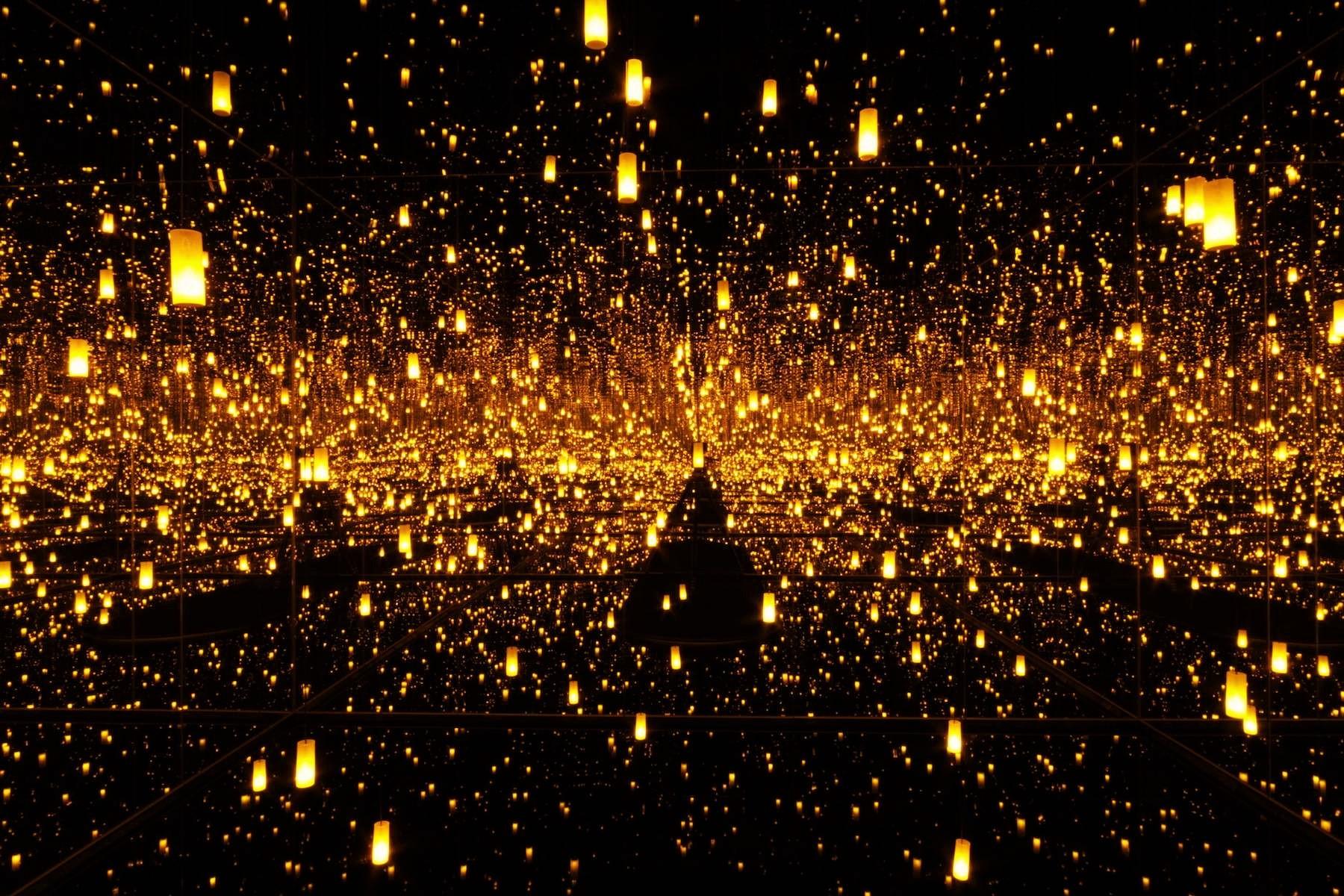 Yayoi Kusama Aftermath of Obliteration of Eternity (2009). ©Yayoi Kusama