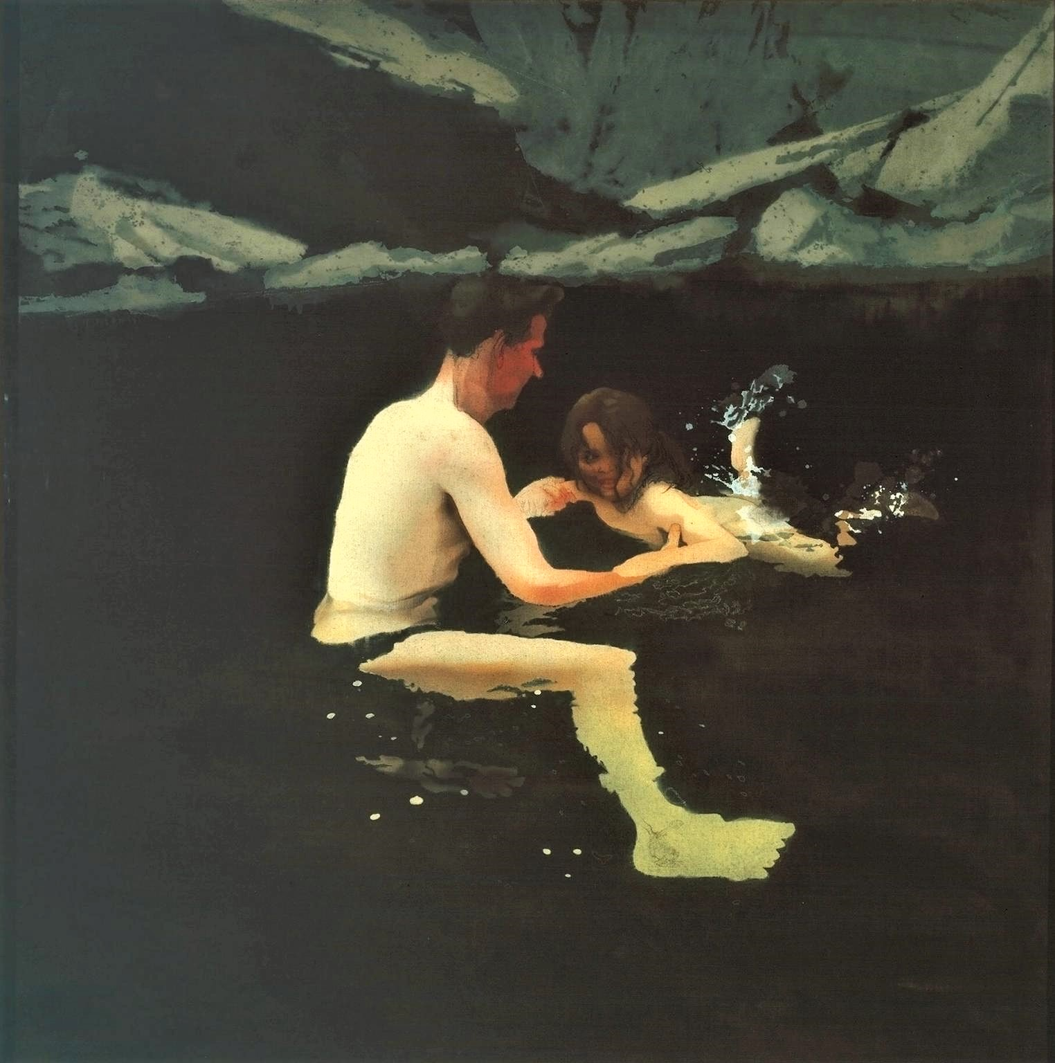 Melanie and Me Swimming 1978-9 Michael Andrews 1928-1995 Purchased 1979 http://www.tate.org.uk/art/work/T02334