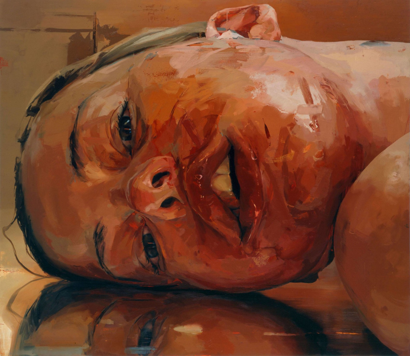 Jenny Saville Reverse (2003) ©Courtesy of the artist & Gagosian Gallery