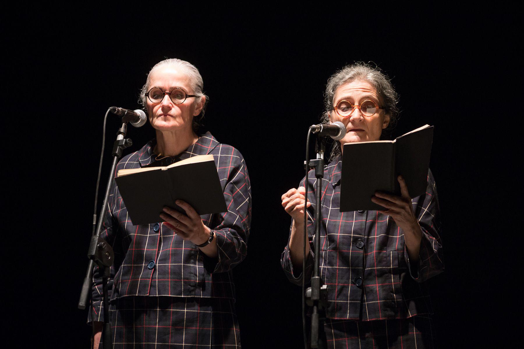 Claudia Castellucci & Chiara Guidi Il regno profondo. Foto di scena ©Claudia Pajewski
