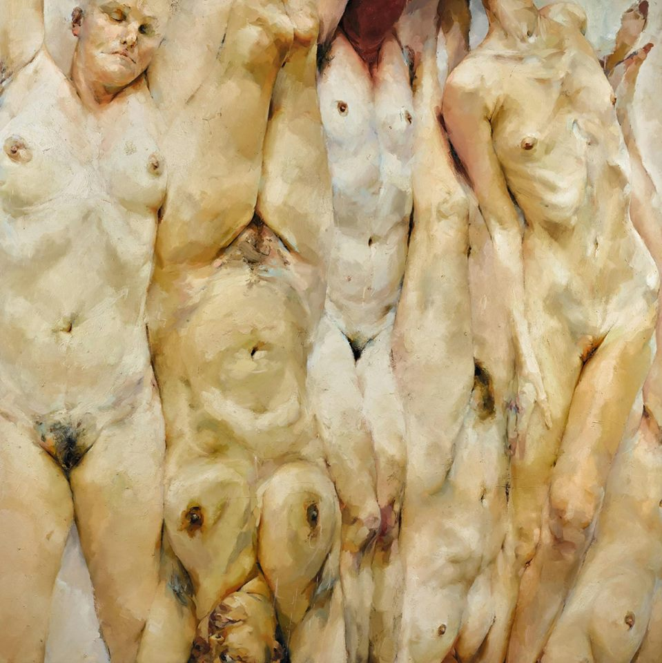 Jenny Saville Shift (1996-97) © Courtesy of the artist & Gagosian Gallery
