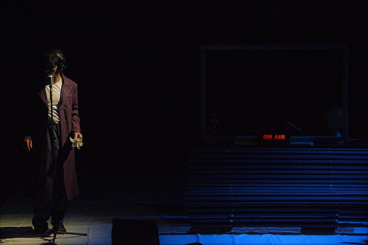 Fortebraccio Teatro Cantico dei Cantici. Foto di scena ©Angelo Maggio