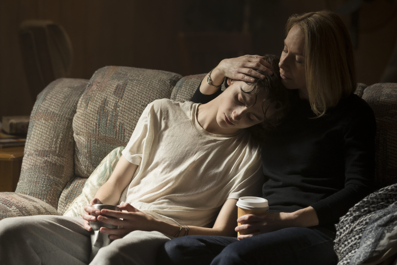 TimothŽe Chalamet as Nic Sheff and Amy Ryan as Vicki Sheff star in BEAUTIFUL BOY